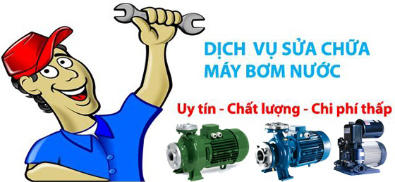 sửa chữa máy bơm nước