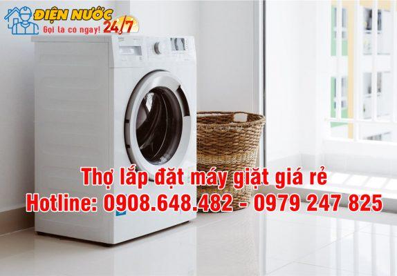 thợ lắp đặt máy giặt giá rẻ
